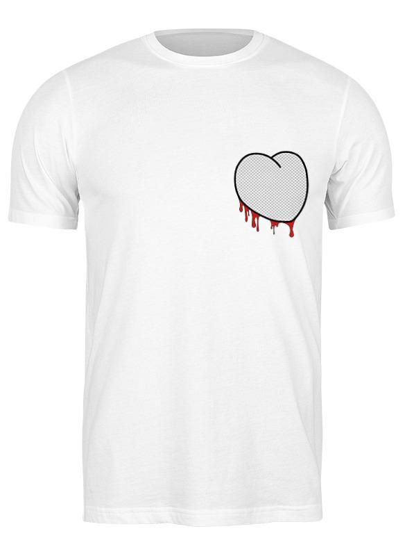 Printio Футболка классическая Вырезанное сердце 2 printio футболка классическая вырезанное сердце 2