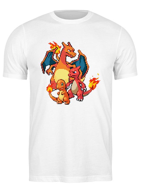 printio детская футболка классическая унисекс покемоны 8 бит драконы Printio Футболка классическая Покемоны 8-бит (драконы)