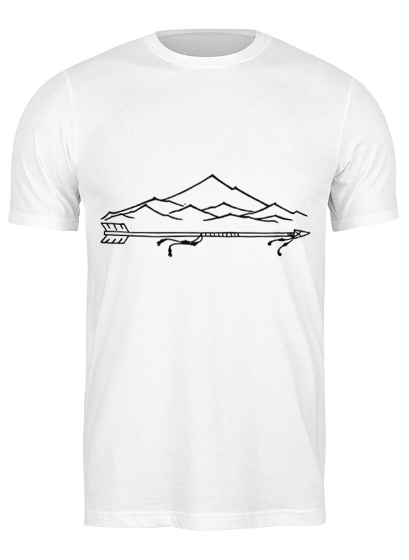 Printio Футболка классическая Горы горы