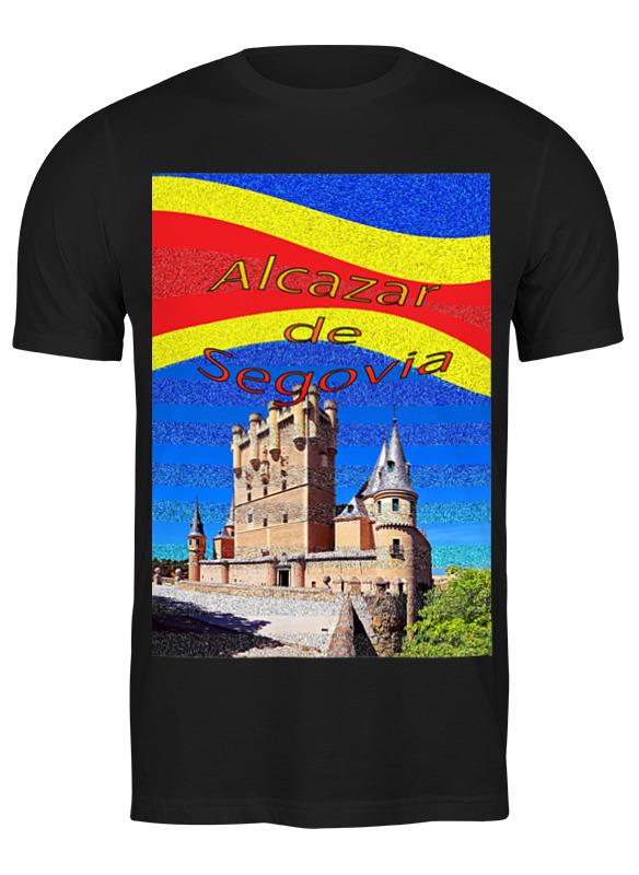 Printio Футболка классическая Замки испании. замок сеговия.
