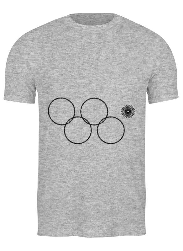 Printio Футболка классическая Олимпийские кольца в сочи 2014