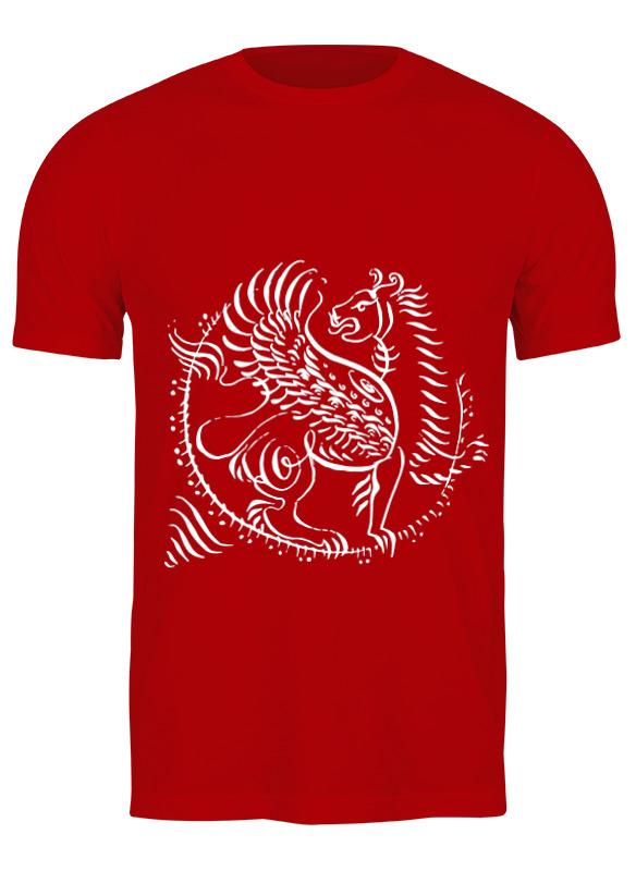 Printio Футболка классическая Крылатый лев - геральдический символ