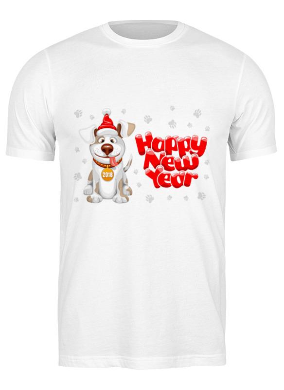 Printio Футболка классическая С новым годом собаки!