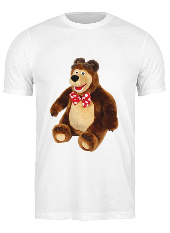 Printio Футболка классическая Медведь.мягкая игрушка. любимый мульт.