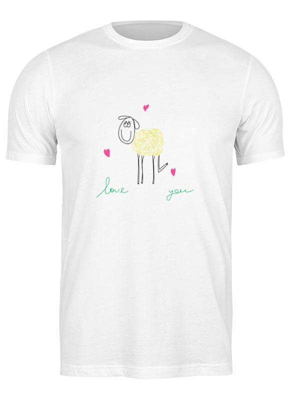 Фото - Printio Футболка классическая Влюбленная овечка printio футболка классическая овечка