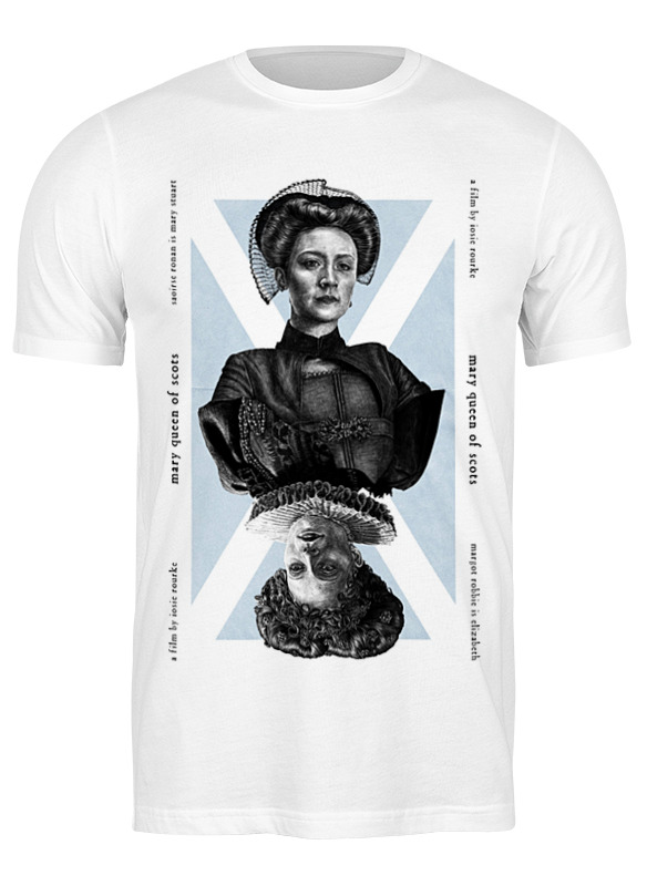 Printio Футболка классическая Две королевы / mary queen of scots