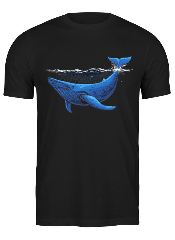 Фото - Printio Футболка классическая Ночной кит максим евгеньевич вишняков ночной воздух