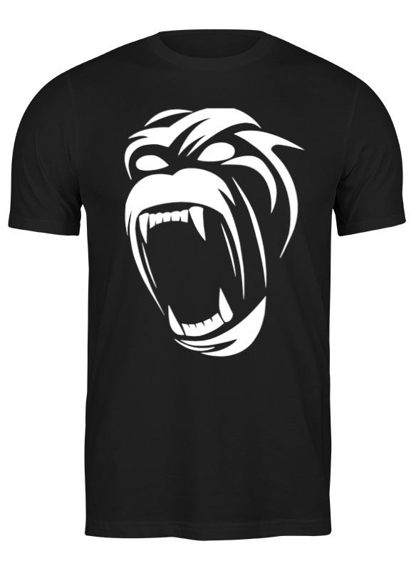 Printio Футболка классическая Gorilla printio футболка классическая gorilla kratos