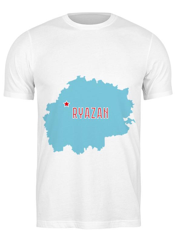 Printio Футболка классическая Рязанская область. рязань