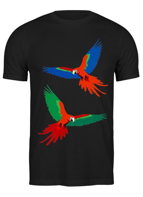 Printio Футболка классическая Попугаи ара
