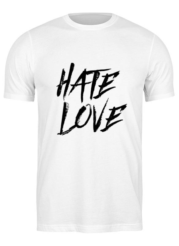 Printio Футболка классическая Рэпер face hate love