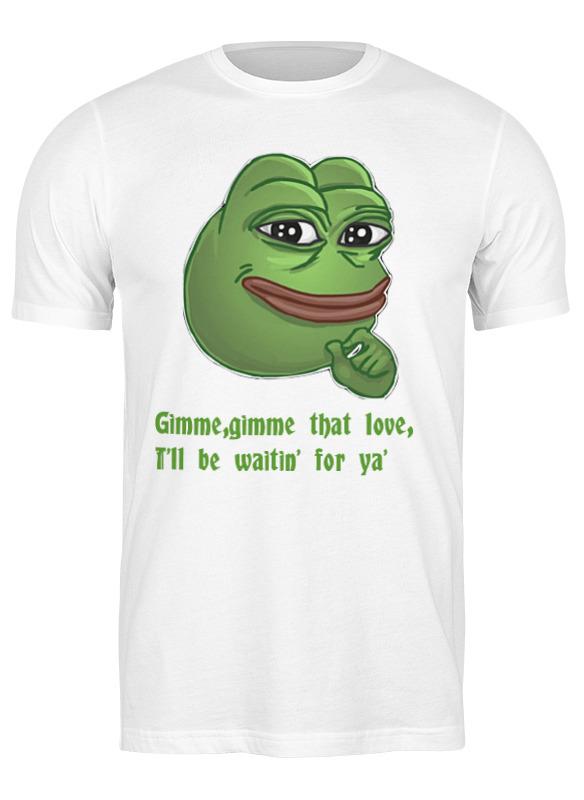 Фото - Printio Футболка классическая Pepe the frog whant some love printio сумка pepe the frog whant some love