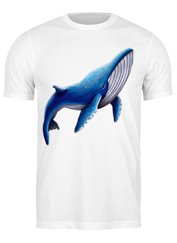 Printio Футболка классическая Синий кит