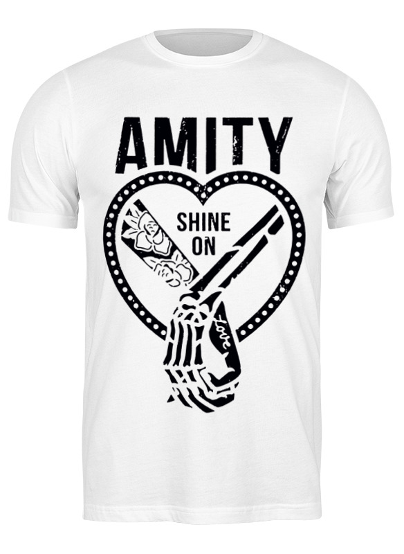 amity affliction amity affliction this could be heartbreak 180 gr Printio Футболка классическая Amity shine on