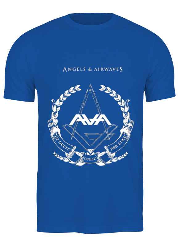 Printio Футболка классическая Angels and airwaves freemason printio футболка с полной запечаткой для девочек astronaut angels and airwaves