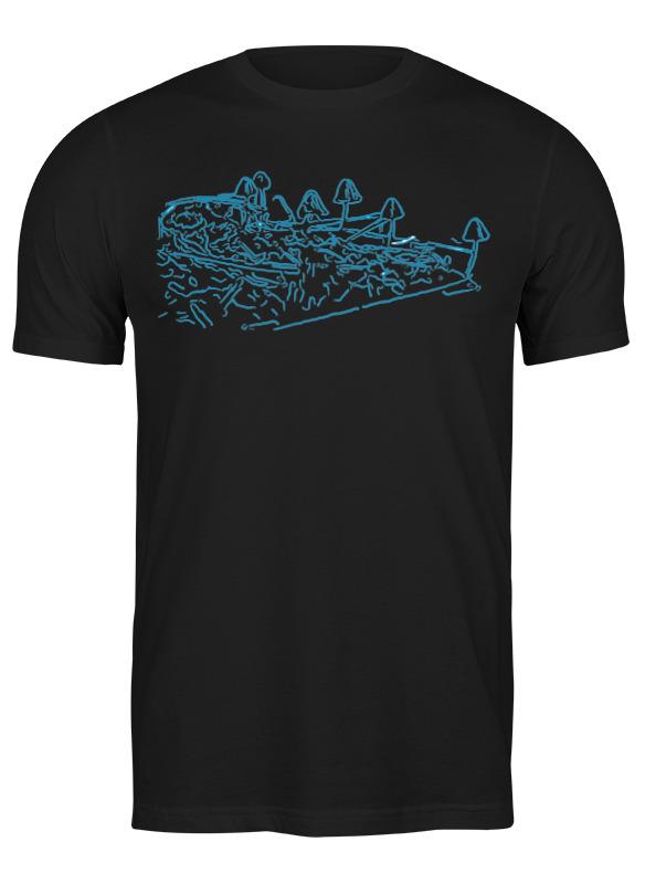 printio футболка классическая mushrooms Printio Футболка классическая Mushrooms