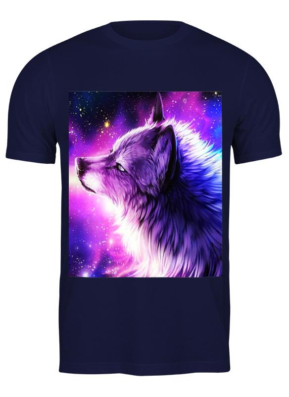 Printio Футболка классическая Неоновый волк
