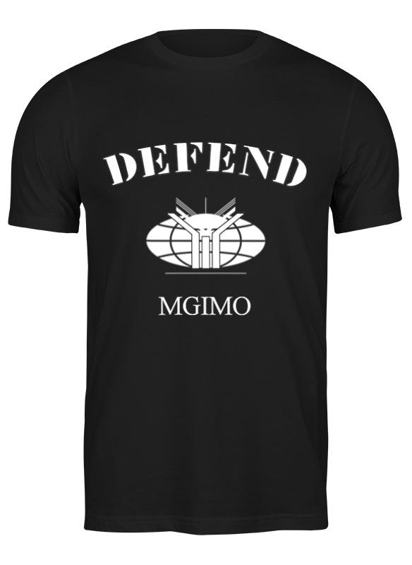 Printio Футболка классическая Defend mgimo