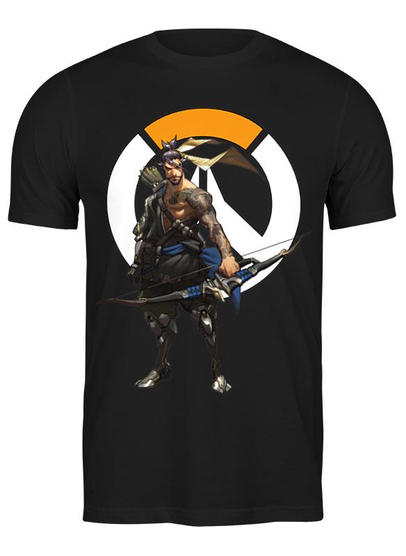 Printio Футболка классическая Overwatch hanzo / овервотч хандзо printio футболка wearcraft premium overwatch hanzo овервотч хандзо