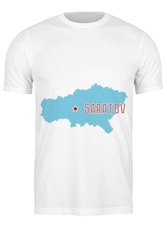 Printio Футболка классическая Саратовская область. саратов