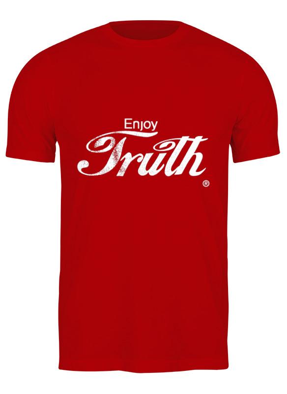 Фото - Printio Футболка классическая Coca cola enjoy truth! printio детская футболка классическая унисекс coca cola enjoy truth