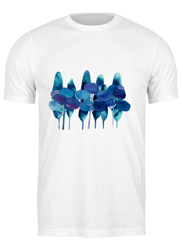 Printio Футболка классическая Чернильный лес футболка codered regular cr чернильный синий s