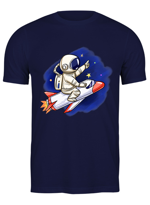 Printio Футболка классическая Полет на луну printio маска лицевая полет на луну