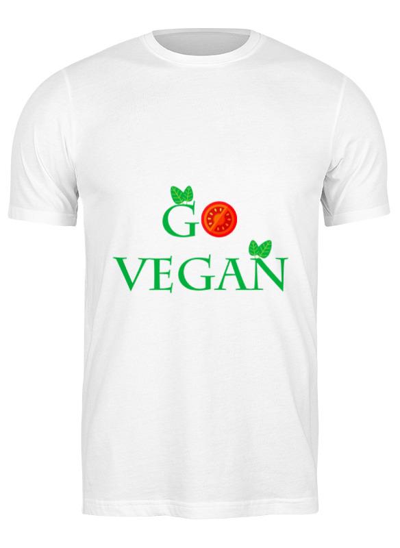 Printio Футболка классическая Go vegan