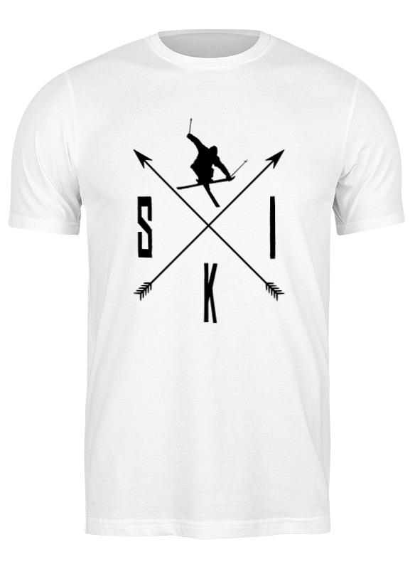 Printio Футболка классическая Ski лыжи