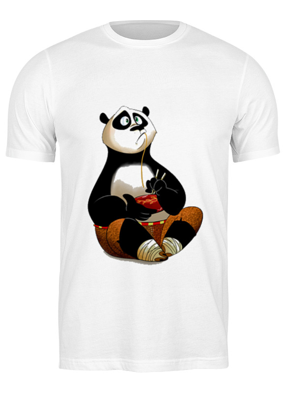 Printio Футболка классическая Кунг фу панда