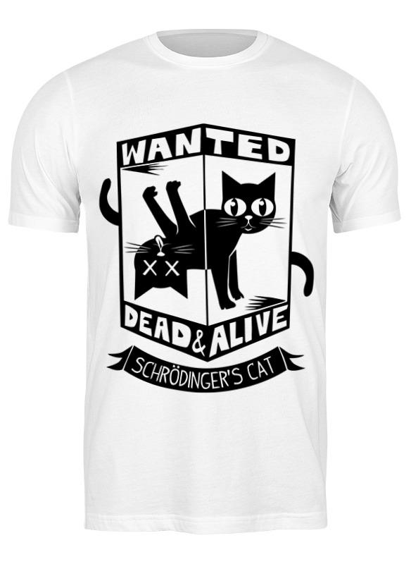 Printio Футболка классическая Кот шрёдингера (dead alive) printio детская футболка классическая унисекс кот шрёдингера dead alive