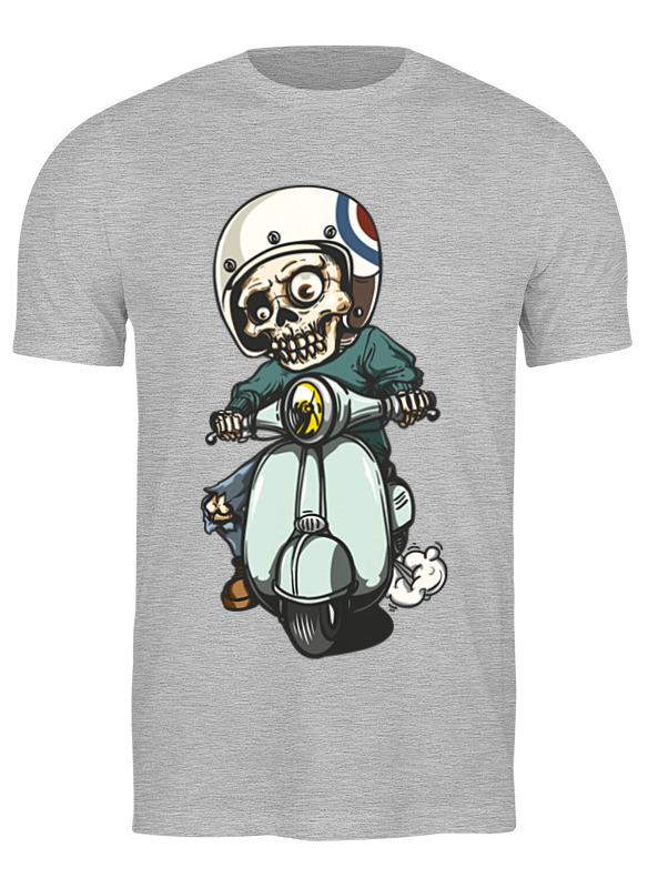 Printio Футболка классическая Скелет на мотоцикле