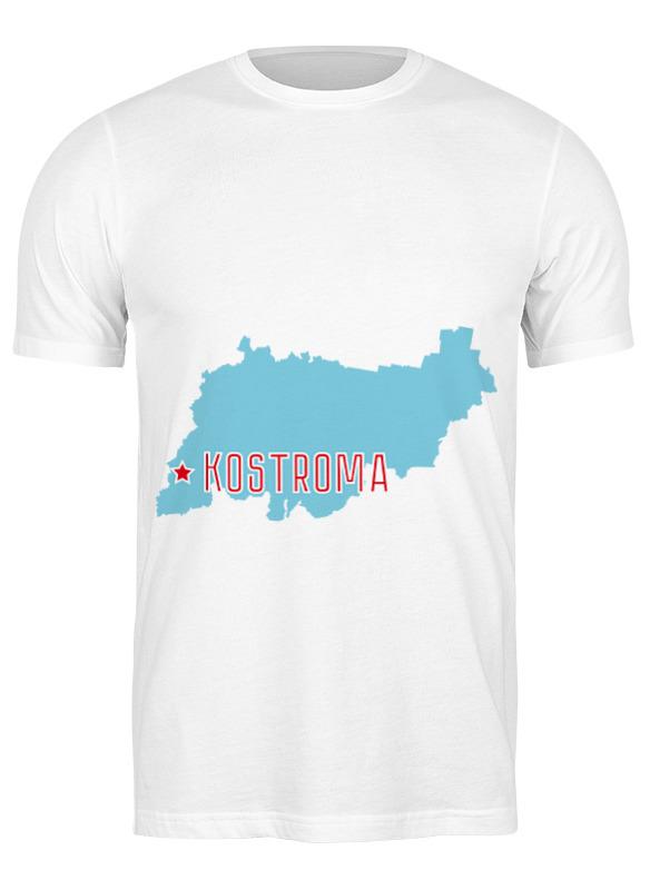 Printio Футболка классическая Костромская область. кострома