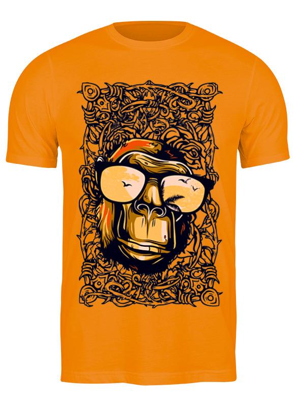 Printio Футболка классическая Gorilla with glasses printio футболка классическая gorilla kratos