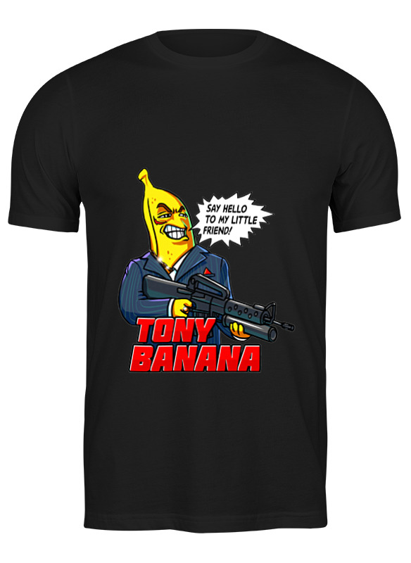 Printio Футболка классическая Tony banana