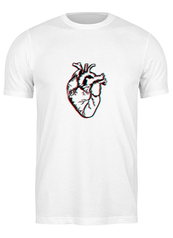 Printio Футболка классическая 3д сердце