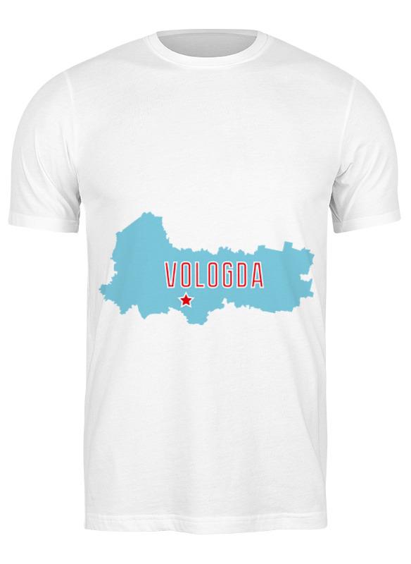 Printio Футболка классическая Вологодская область. вологда