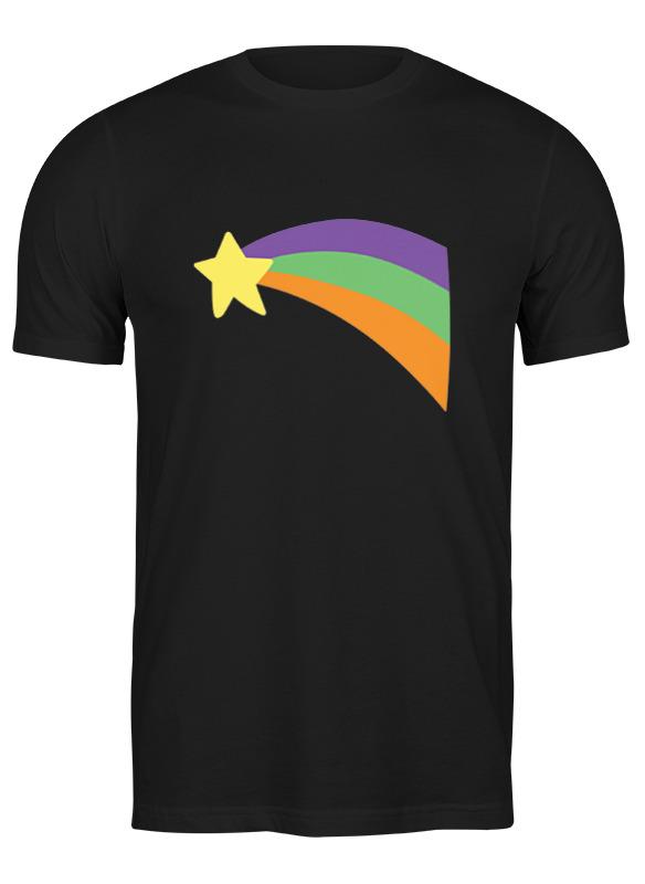 Printio Футболка классическая Звезда и радуга (гравити фолз) printio детская футболка классическая унисекс гравити фолз gravity falls