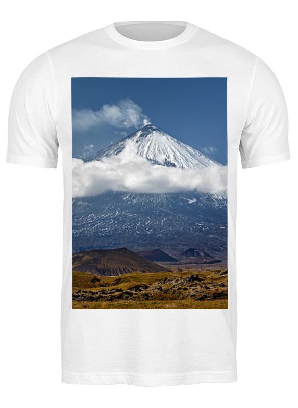 Printio Футболка классическая Камчатка, осенний пейзаж, извержение вулкана