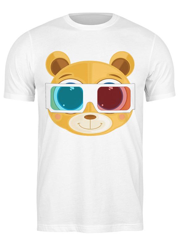Printio Футболка классическая Медведь 3д
