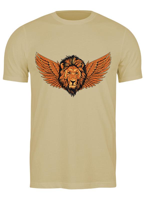 Printio Футболка классическая Крылатый лев