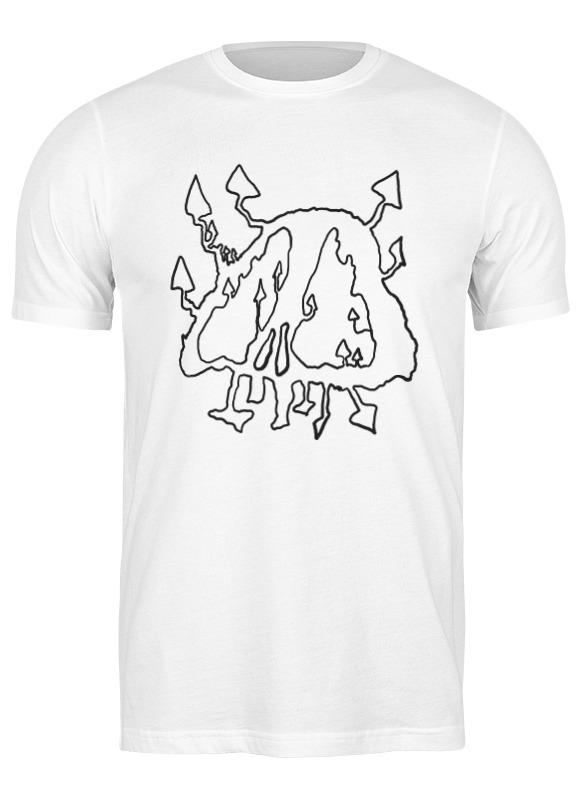 printio футболка классическая mushrooms Printio Футболка классическая Mushrooms skull