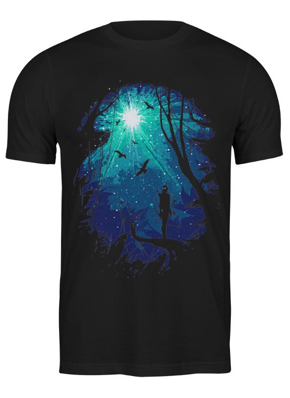 свет имени в ночи времен европейские легенды средневековья Printio Футболка классическая Лунный свет