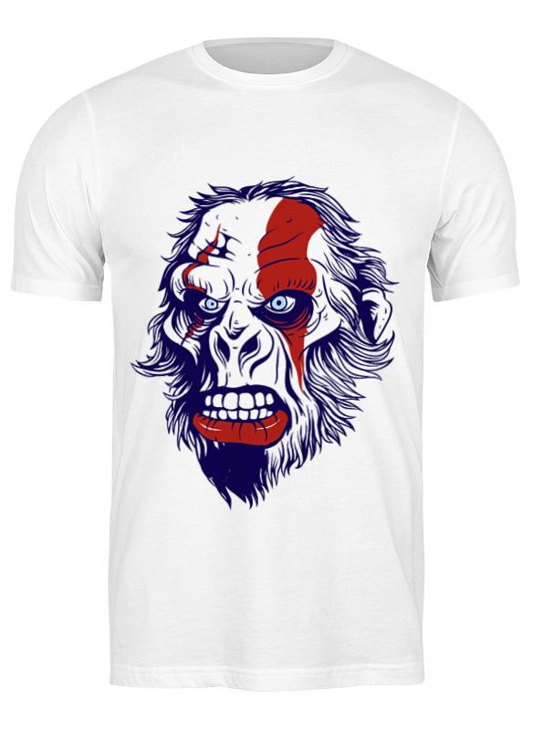 Printio Футболка классическая Gorilla kratos printio футболка классическая gorilla kratos