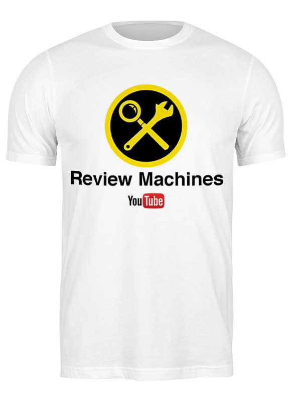 Printio Футболка классическая Review machines