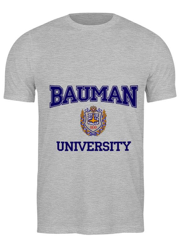 Printio Футболка классическая Мгту имени н.э. баумана bauman university