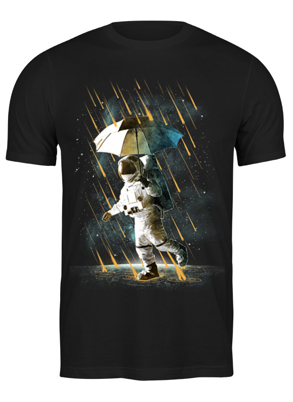 Printio Футболка классическая Метеоритный дождь