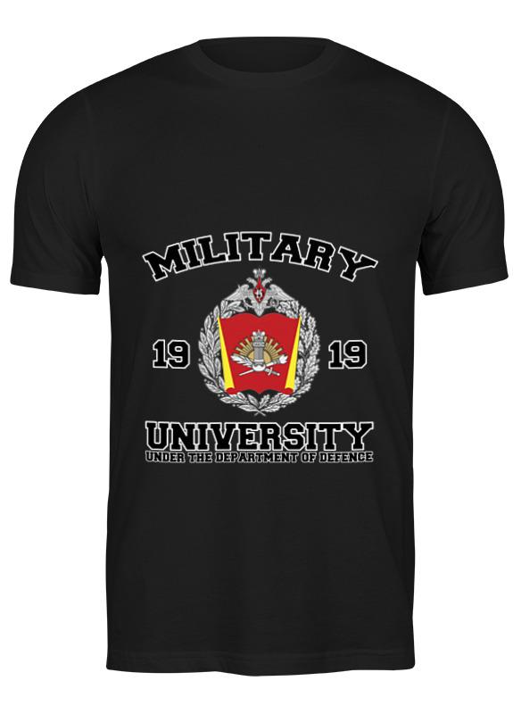 футболка классическая printio учился водить в гта Printio Футболка классическая 2016 военный университет мо рф (черная)