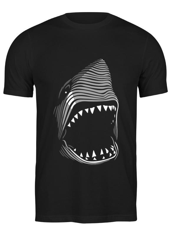 Printio Футболка классическая Акула( baywatch)
