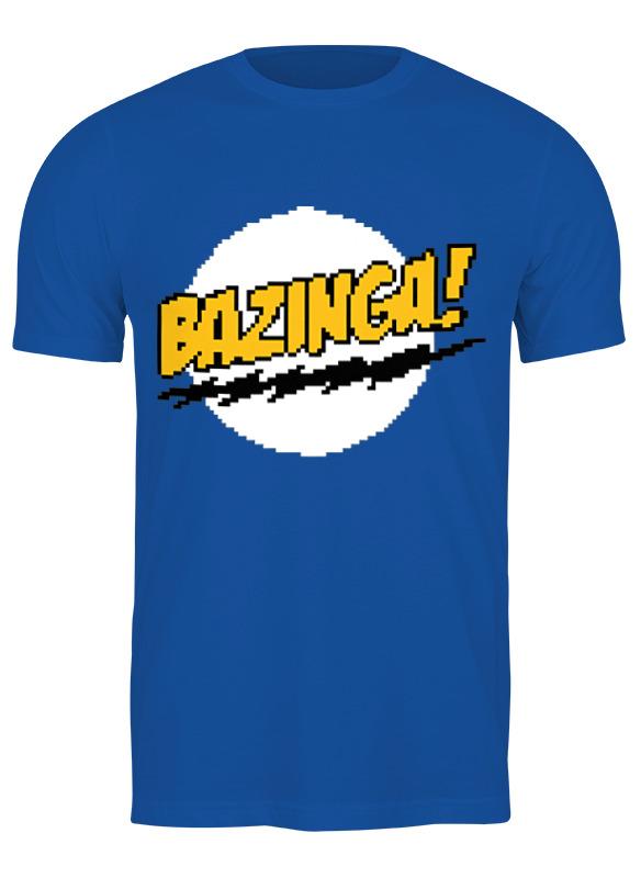 printio bazinga базинга Printio Футболка классическая Bazinga! (базинга)